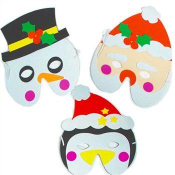 Christmas soft foam masks-0