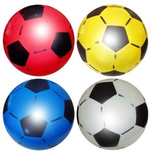 Inflated Plastic Football-1315