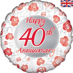 "18"" Happy 40th Anniversary-0"