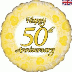 50th Wedding golden Anniversary