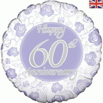 "18"" Happy 60th Anniversary-0"