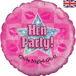 "Hen Party Holographic 18"" Foil-0"
