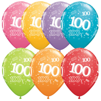 100th Birthday Latex Balloon-0