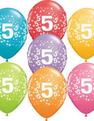 5th Birthday Latex balloon-0