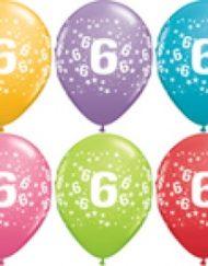 6th Birthday Latex Balloon-0