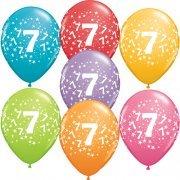 7th Birthday Latex Balloon-0