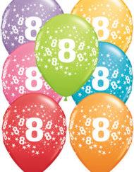 8th Birthday Latex Balloon-0