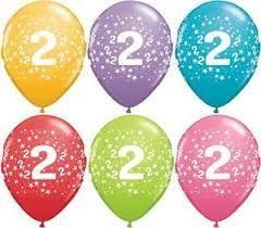 2nd Birthday Latex Balloon-0