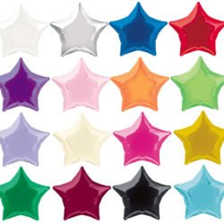 Plain Star Foil Balloon-0