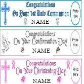 "Paper Personalised banner (Paper Banners 6ft x 16.5"")-0"