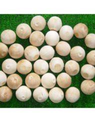 55mm Wooden Balls -0
