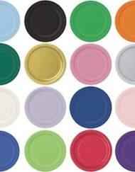 "16 X 9"" paper coloured plates-0"