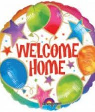"""18"""" Foil Welcome Home balloon-0"""