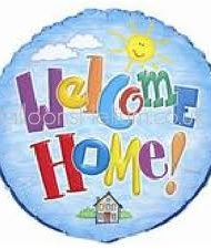 "18"" Foil Welcome Home Balloons-0"