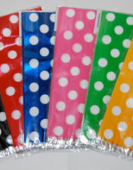 20 x Dot- Dots Gift bags/Cellow Bags-0