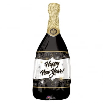 "36"" Champagne New Year Foil Balloon-0"