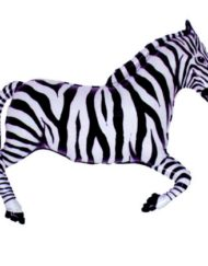 "30"" Zebra Super Shape Balloon-0"