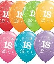 18th Birthday Latex Balloon-0