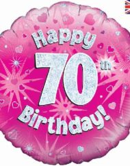 """Pink 70th Foil Balloon-0"