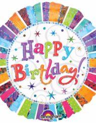 Radiant Birthday Foil Balloon-0