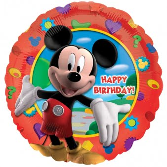 MICKEY BIRTHDAY FOIL BALLOON-0