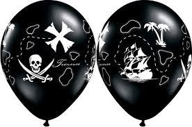 Pirate Latex std Balloon-0