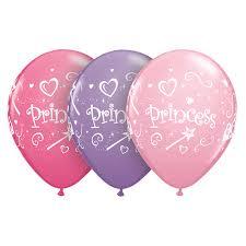 Latex Princess Std Balloon-0