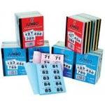 Raffle books Jumbo brand 1- 500-0