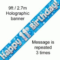 11th Birthday Banner-0