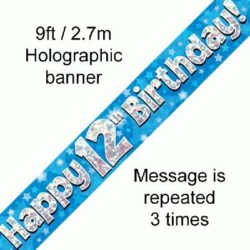 12th Birthday Banner-0