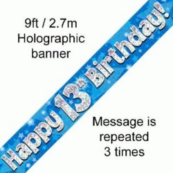 13th Birthday Banner-0