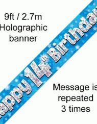 14th Birthday Banner-0