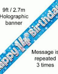 14th Birthday Banner-1749