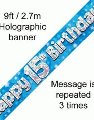 15th Birthday Banner-0
