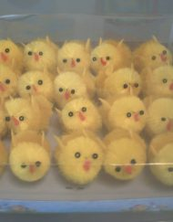 20 x Easter small chicks-0