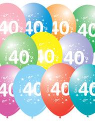 40th Latex balloon-0