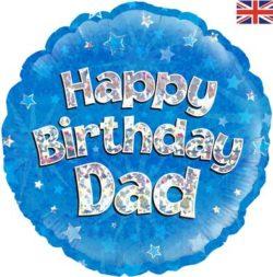 "Happy Birthday Dad 18"" Foil Balloon-0"
