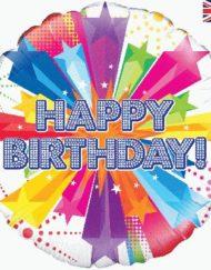 Happy Birthday Foil Balloon-0