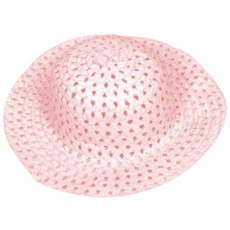 Child Pink Easter Bonnet -0