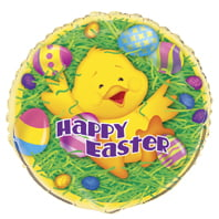 "Easter Ducky Party 18"" Foil Balloons-0"