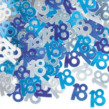 18th Blue Table Confetti-0