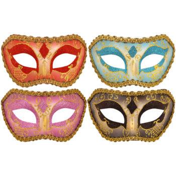 Glitter Eye Mask 4 assorted colours-0