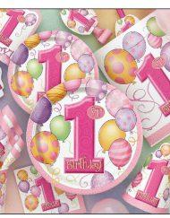 1st Birthday Pink Banner-1673