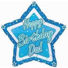"Happy Birthday Dad 18"" Foil Balloon-1822"