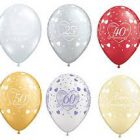 25th Silver Anniversary Latex Balloon-1801