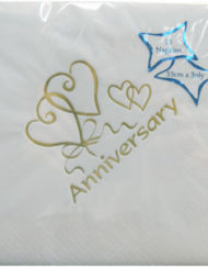 Luxury Anniversary Napkins-0