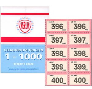 Merlin brand Raffle Tickets 1-1000-0