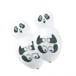 Panda Shaped Latex Balloons -0