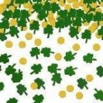 Gold coin and green shamrock-0