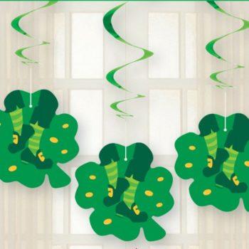 St Patrick's Day Hanging Swirls-Decoration-0